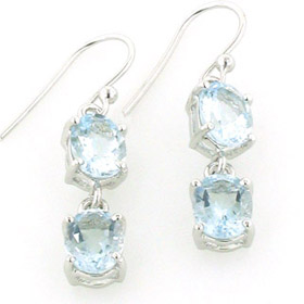 Aquamarine Earrings Katie