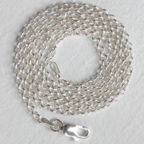 Sterling Silver Belcher Chain - 2.5mm