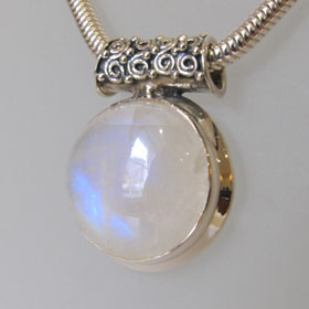 Rainbow Moonstone Pendant Raine