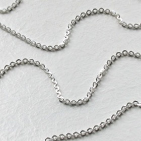 Sterling Silver Diamond Cut Anchor Chain - 2.2mm