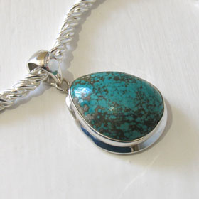 Turquoise Pendant Constance