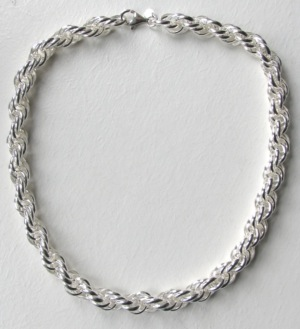 Silver link chains - Boothandbooth.co.uk