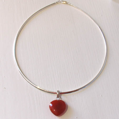 Red Onyx Pendant | Gemstone Jewellery