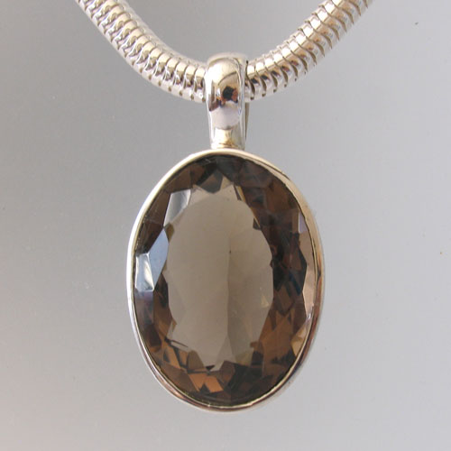 Smokey Quartz Pendant - Boothandbooth.co.uk