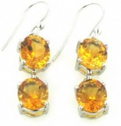 Gemstone Earrings - Booth and Booth