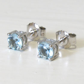 Aquamarine Earrings Sally